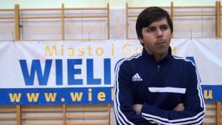 Wywiad 1 po meczu Nbit vs Słone Miasto Wieliczka