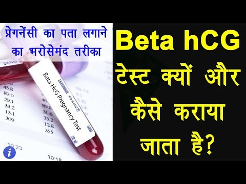 Beta hCG Pregnancy Test Explained in Hindi   By Ishan