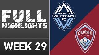 HIGHLIGHTS | Vancouver Whitecaps FC 3-3 Colorado Rapids by Major League Soccer