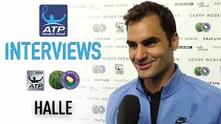 Roger Federer talks about his journey to his ninth Gerry Weber Open title in Halle. Watch live tennis at tennistv.com. SUBSCRIBE YouTube Channel: http://bit...