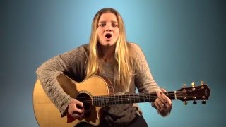 His Daughter Acoustic Guitar - Molly Kate Kestner (Allie Cover)