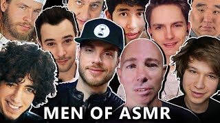MEN OF ASMR - 29 Male ASMRtists (1.5 HOURS!)