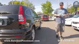 Autoline Preowned 2011 Honda CR-V EX For Sale Used Walk Around Review Test Drive Jacksonville