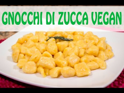 ricette vegan - gnocchi di zucca