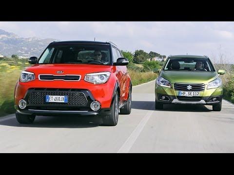 Kia Soul vs. Suzuki SX4 S-Cross