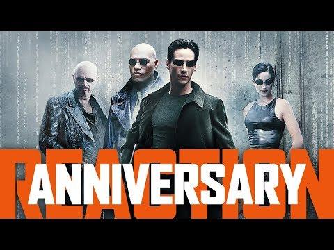 THE MATRIX 20 Year Anniversary Trailer Reaction!