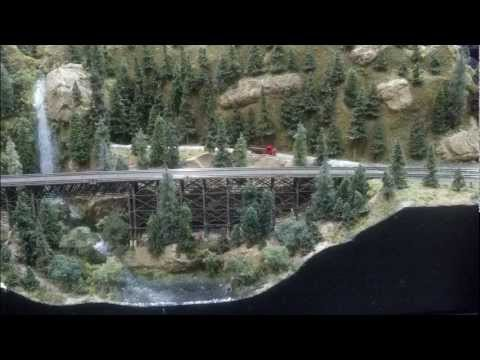 z scale model train layout - A short video and pictures of a Z scale modular layout. I model in HO, and this just blew my mind. Incredible modeling of structures and scenery considering ...