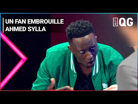 UN FAN EMBROUILLE AHMED SYLLA PENDANT SON SPECTACLE !