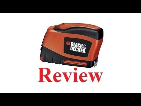 Black and Decker auto tape Review