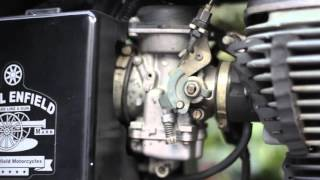 8. Bullet Standard 500 carburettor Adjustment setting / tuning