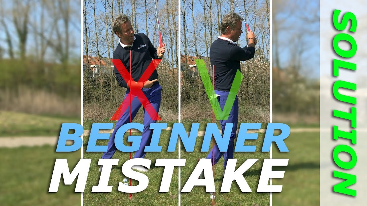 This is how you finish your pitch in golf - Beginner mistake solution