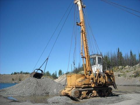 Madill 071 gravel yarder