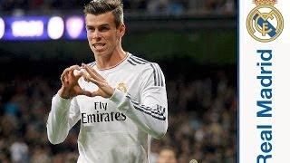 Gareth Bales Hattrick gegen Real Valladolid