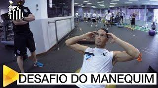 O Santos também entrou na onda do Mannequin Challenge, ou do Desafio do Manequim. Maaas, ficamos abismados com uma coisa: como o Ricardo Oliveira ...