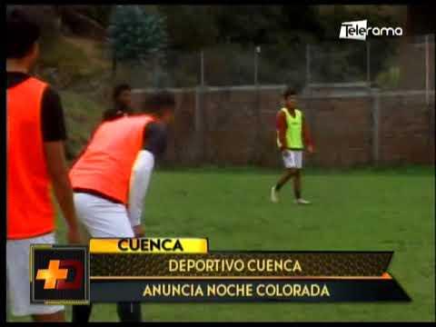 Deportivo Cuenca anuncia Noche Colorada