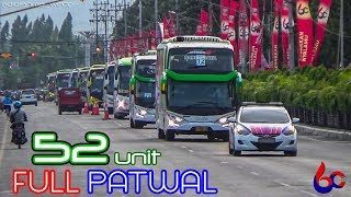 Video 52 UNIT FULL KAWALAN!!! | KONVOI BUS Rombongan Karyawan PT Gudang Garam (HUT Ke-60) MP3, 3GP, MP4, WEBM, AVI, FLV Mei 2019