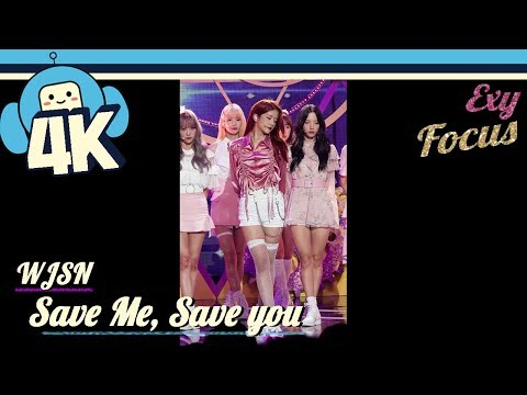 [4K & Focus Cam] WJSN - Save Me, Save You (EXY Focus) @Show! Music Core 20180922