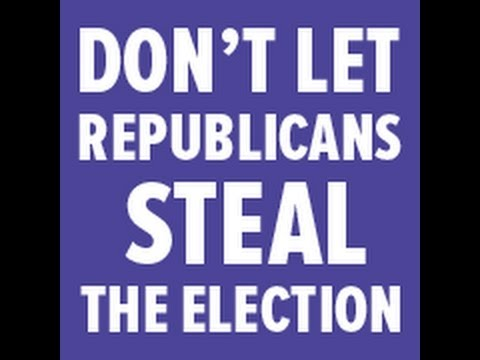 Republicans Stealing 2012 Election in Broad Daylight