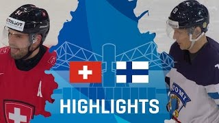 Швейцария - Финляндия 2-3 OT