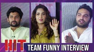 HIT Movie Team Funny Interview | Vishwak Sen | Ruhani Sharma | Nani