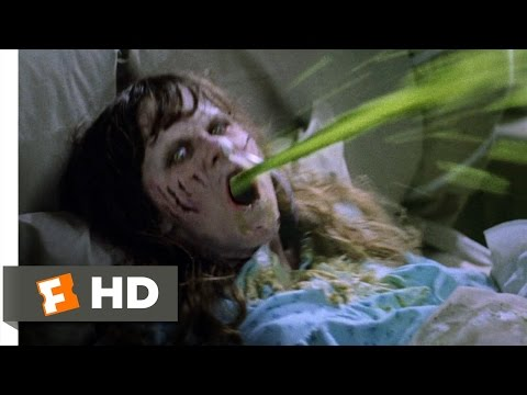 The Exorcist (2/5) Movie CLIP - Projectile Vomit (1973) HD
