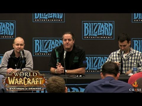 blizzcon - Fans ask questions about Warlords of Draenor at Blizzon Con 2013.
