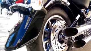7. 2012 Yamaha Road Star 1700 S. Cobra Slash Cuts
