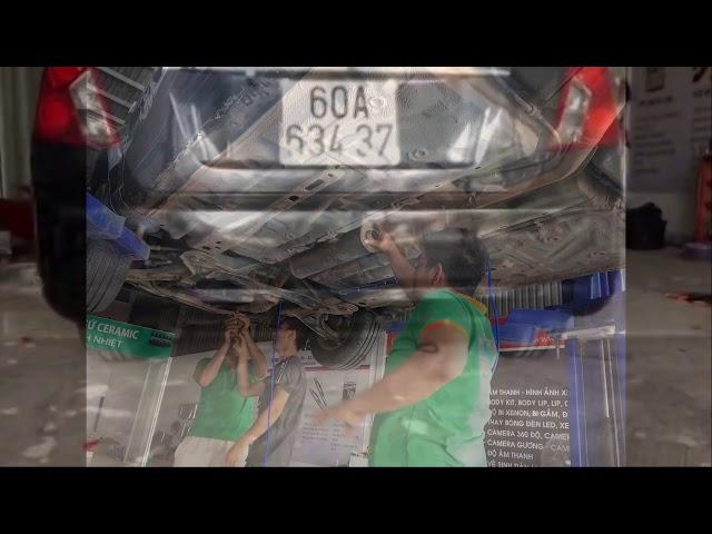 Độ Pô Thailand Cho lacetti Tại HTC AUTOCAR