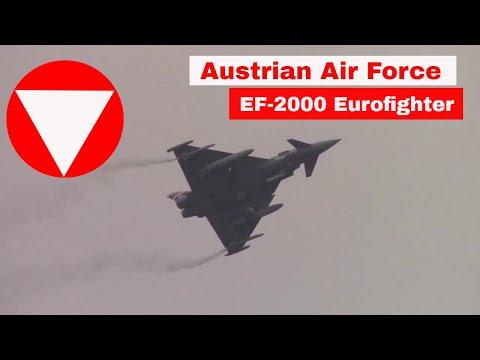 Austrian Air Force Eurofighter...