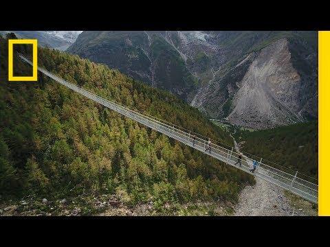 , title : 'Could You Walk Across the World's Longest Pedestrian Suspension Bridge? | National Geographic'