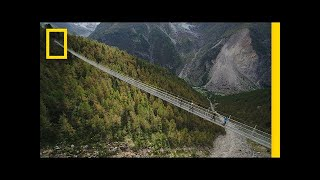 Download Youtube: Could You Walk Across the World's Longest Pedestrian Suspension Bridge? | National Geographic