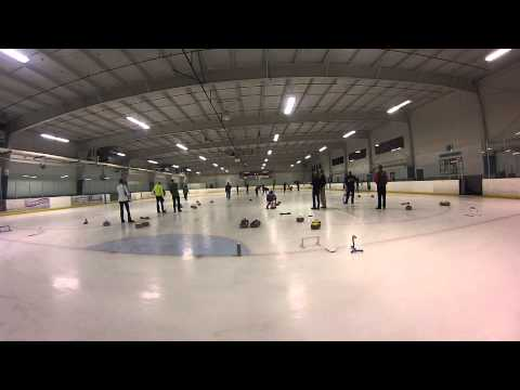 Curling with Curl San Diego at the Ice Plex