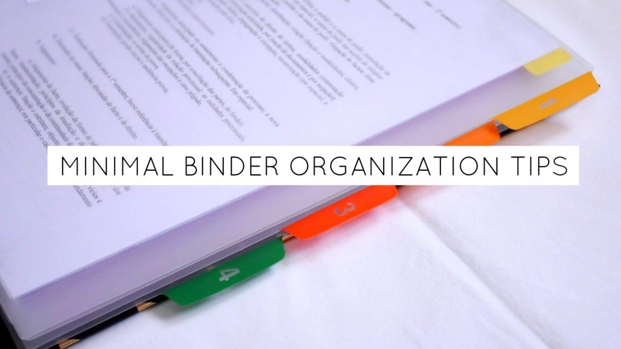 Picture of Minimalistic Binder Company Strategies