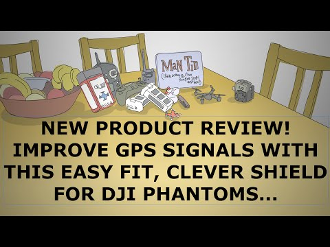 "Product Review: ""GPS Booster"" easy fit GPS shield for DJI Phantoms"