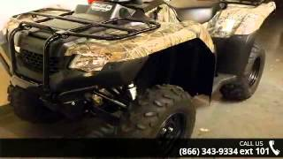 7. 2015 Honda FourTrax Rancher 4x4 Automatic DCT IRS EPS Pha...