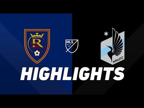 Video: Real Salt Lake vs. Minnesota United FC | HIGHLIGHTS - July 20, 2019