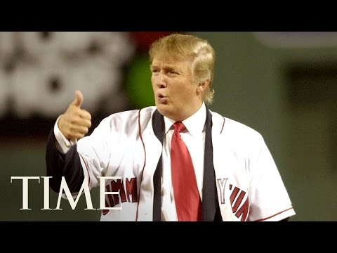 President Trump Skipping Baseball's First Pitch Tradition Vs. Past Presidents' Pitches | TIME