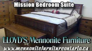 Mennonite 7 Piece Mission Bedroom Set