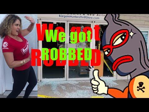 WE GOT ROBBED Storage Wars Rene & Casey Nezhoda Bargain Hunters Thrift Store