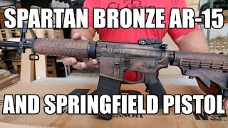 Spartan Bronze AR-15s - https://www.classicfirearms.com/smith-and-wesson-m-p15-mo... Springfield Pistols ...