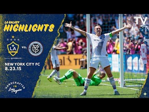Highlights: Keane, Dos Santos and Gerrard shine as LA Galaxy thrash New York City 5-1