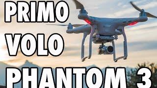 La mia prima volta con un Drone. Concentrazione e prudenza per questo bellissimo DJI Phantom 3 Advance. Voi ne avete mai pilotato uno? GoProTherapy ...