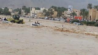 Nizwa Oman  city images : Flood in Nizwa Oman Jan 2015