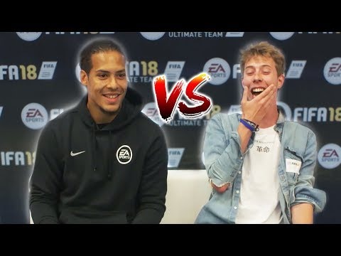 LIVERPOOL FAN VS VIRGIL VAN DIJK (VVD) FIFA 18