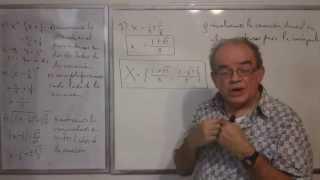 Algebra Intermedia - Lección 34 - B (solución De Ecuaciones Cuadráticas, Completando El Cuadrado)