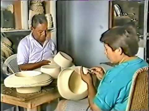 This video shows you the Panama Hat. Starting in the jungles of Ecuador where Toquilla Palm leaves are collected, boiled and bleached.