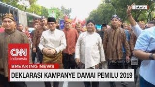 Video Kekompakan Prabowo-Sandi & Jokowi-Ma'ruf Saat Ikut Karnaval Deklarasi Kampanye Damai MP3, 3GP, MP4, WEBM, AVI, FLV Desember 2018