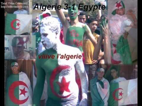 الجزائر مصر  اغنية للفريق الوطني روعة