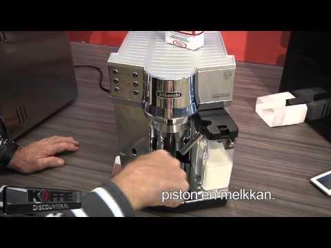 Delonghi EC 850 espresso apparaat. Prachtige espresso machine van Delonghi, de EC 850. Demo video