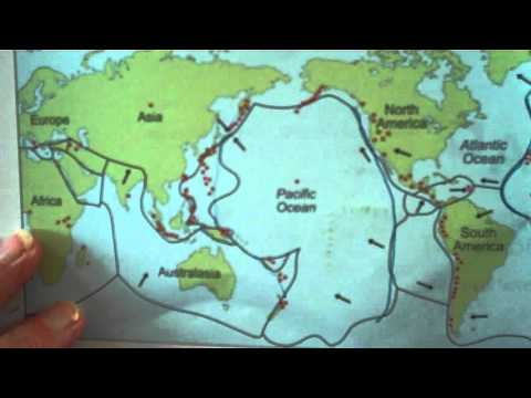 Describe the world distribution of earthquakes